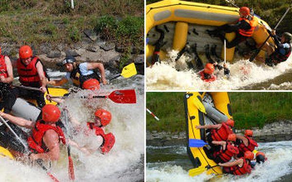 Pouze 599 Kč místo 1330 Kč za půldenní raftování na divoké vodě pod vedením zkušených instruktorů kousek od Prahy. Divoká voda, řada překážek, mohutné vlny i silný proud - tomu říkáme pravý adrenalin.