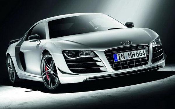 Další exkluzivní nabídka! Jízda v luxusním SUPERSPORTOVNÍM voze Audi R8! Staňte se spolujezdcem této adrenalinové jízdy za neskutečných 590 Kč a zkroťte 500 koní pod kapotou! Získejte zážitek na celý život