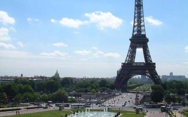2768 Kč za 5denní poznávací zájezd do Paříže a Versailles v ceně 3690 Kč