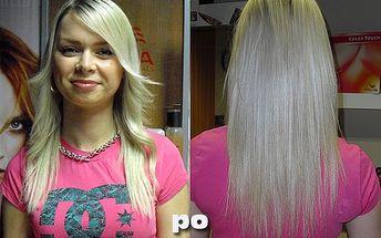 Rostete z čekání na to, až budou Vaše vlasy zase o něco delší? Už nečekejte! PRODLOUŽENÍ VLASŮ přírodními vlasy pomocí keratinu jen za 3900 Kč v IN Salonu!
