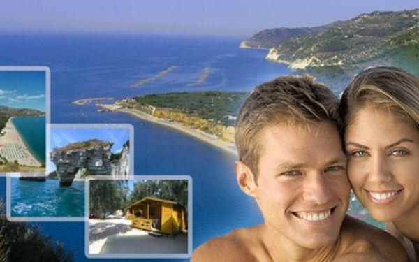 Pojeďte s námi objevovat krásy jižní Itálie, opálit se do plavek dříve než ostatní a zároveň si prodloužit léto! Desetidenní zájezd do Gargana v Itálii za 3200 Kč. V ceně je doprava, ubytování, polopenze a mnoho dalšího!