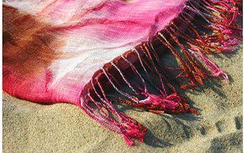 Stylový plážový šátek v různých barvách jen za 79 Kč místo 249 Kč!