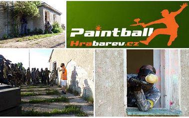 Paintball na vojenské základně hl.m. Prahy za neskutečnou cenu 139 Kč!! Cena obsahuje: Vstup a pronájem paintballového hřiště až na 4 hodiny, zapůjčení paintballového značkovače, zapůjčení ochranné paintaballové masky, instruktáž i rozhodčího!!