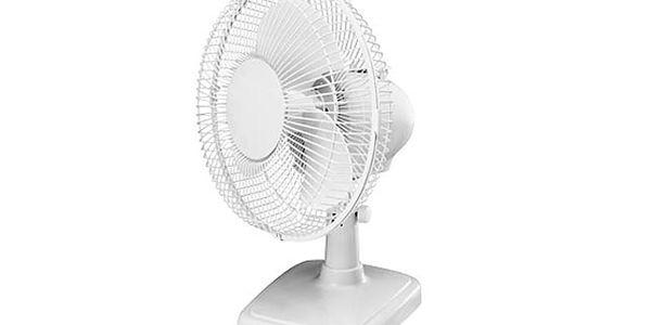 Stolní Ventilátor Duracraft - Pořiďte si v letních dnech ventilátor a hned se budete cítit lépe! Navíc díky malým rozměrům nebude nikde překážet… (osobní odběr Brno)