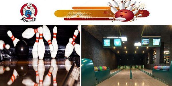 Hodina bowlingu v žižkovském BOWBARu jen za 99 Kč. Původní cena 290 Kč/hod, sleva 66%! Pořádně to koulej, ať všichni voči poulej!