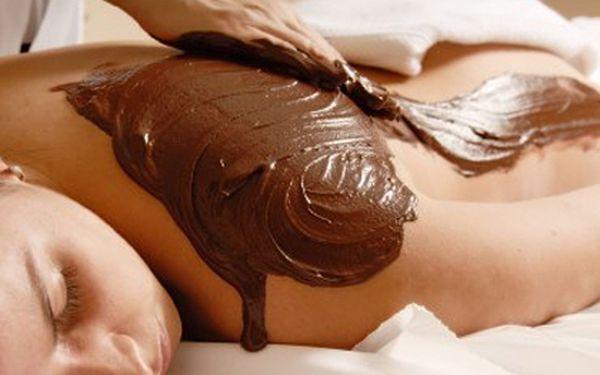 Jen 499 Kč za 90 min. luxusní čokoládovou masáž (peeling, masáž, zábal, infra sauna).