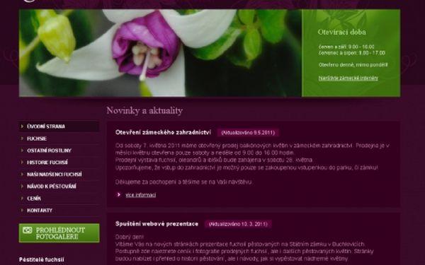 Svěřte Vaše nové www stránky do rukou profesionálů! Tvorba webových stránek včetně grafického návrhu a redakčního systému! Registrace domény a roční webhosting zdarma!