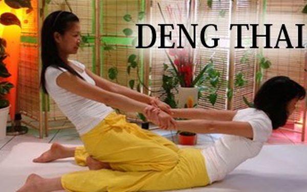 60 minutová Thajská masáž. Neváhejte a navštivte studio Deng-Thai v Ostravě a prožijte zážitek z pravé Thajské masáže s 50% slevou.