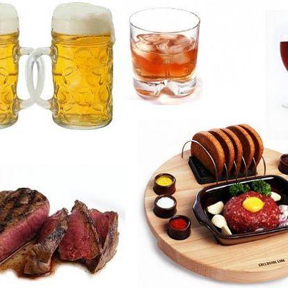 Za 300Kč si dej s přáteli co chcete – jídlo, nealko, alkohol, dle svého vlastního výběru do hodnoty 1500Kč. Nepropásni tuto nabídku!