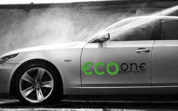 Novinka na českém trhu! Ekologické ruční mytí automobilů EcoOne. Za 199 Kč získáte kompletní čištění, leštění a voskování exteriéru Vašeho vozu.