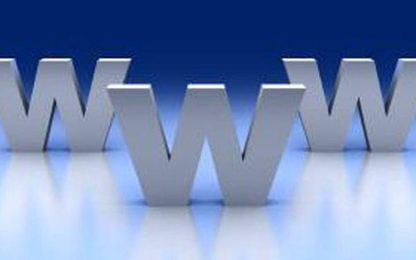 Tvorba www stránek včetně redakčního systému, registrace domény cz/eu, roční webhosting v hodnotě 18.500 Kč s jedinečnou slevou 50% jen za 9.250 Kč