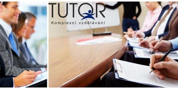 499 Kč za poukaz na profesní vzdělávací kurzy Tutor v hodnotě 1000 Kč! Rozvíjejte své schopnosti a dovednosti v libovolném kurzu se slevou 50 %.