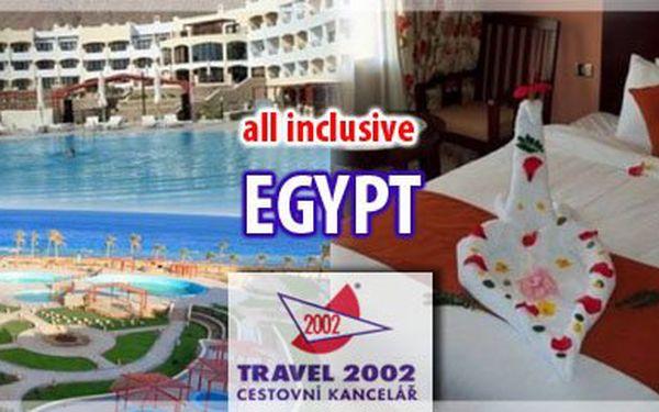 Letecky do Egypta s ubytováním ve 4* hotelu s ALL INCLUSIVE a 30% SLEVOU jen za 15.990,-Kč vč. všech poplatků? Nevěříte? Přesvědčte se!!;-) Levněji to už opravdu nepůjde!...