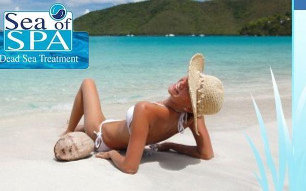 Dopřejte si unikátní relaxaci pro tělo - koupelovou sůl z Mrtvého moře!