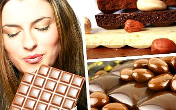 Potěšte své smysly a ochutnejte ty nejlepší druhy čokolády z celého světa. Zúčastněte se degustace světových čokolád v Hradci Králové se slevou 56%.