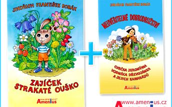 Udělejte radost svým ratolestem ke Dni dětí jen za 249 Kč. DVĚ knížky plné dobrodružství a pohádek za cenu jedné!