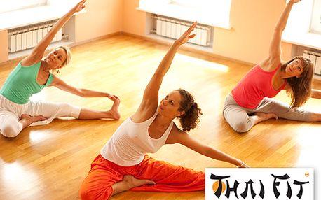 Propojte tělo a duši v jedno na hodině Vinyasa Flow jógy ve studiu Thai Fit 3 s 50% slevou! Protáhněte si tělo a na závěr si užijete relaxaci a jemnou masáž šíje olejem.