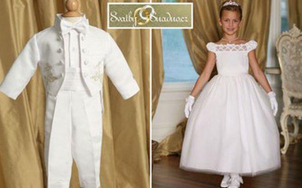 Chystáte svatbu nebo jinou slavnostní událost? Pořiďte svým dětem originální šatičky či obleky na míru a všichni je budou obdivovat. Nyní se slevou až 60 % jen za 1990 Kč.