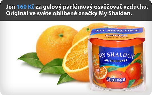 Jen 160 Kč za gelový parfémovaný osvěžovač vzduchu. Originál ve světě oblíbené značky My Shaldan s trvanlivostí až 8 týdnů.