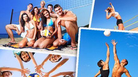 Přijďte si zahrát na písek světové kvality za 90 Kč. Největší beachvolejbalový areál v Brně. Beachvolejbalový kurt na Sokoláku na Brněnské přehradě.
