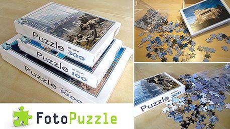 Profesionálne FotoPuzzle, vyrobené podľa Vašej fotky. Skvelý darček pre každého, teraz Puzzle 100, 300 už od 11,35€. Možnosť osobného odberu v BA a KE, alebo zaslania poštou.