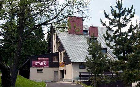 1776 Kč místo 2960 Kč za pobyt pro dvě osoby v hotelu STAR*** 5 v Krušných horách! Sauna a vinárna s krbem součástí hotelu! Navštivte turistický a cyklistický ráj v nádherném okolí Klínovce a odpočiňte si v samém srdci přírody s 40% slevou!