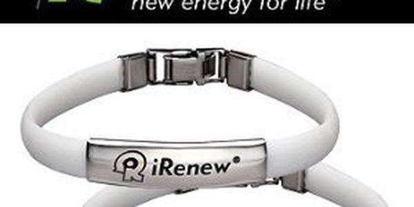 Jen 180 Kč za energetický náramek iRenewer® (včetně poštovného). Stabilizuje celé Vaše tělo, vyrovná všechny energetické hladiny, dobije Vás energií a zvýší i fyzickou sílu a reakce. Sleva 74%!