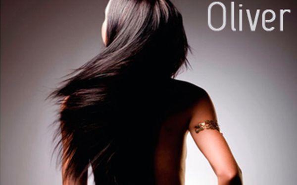 Jen 179 Kč za umytí vlasů, stříhání, vyfoukání, styling a vyživující masku v kadeřnictví Oliver na náměsí v Místku.