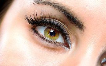 K vodě bez líčidel? S trvalou na řasách okouzlíte svým hlubokým pohledem,který Vás rozzáří. Za 225,- Kč včetně barvení a nalíčení budouVaše oči krásné a výrazné každý den.
