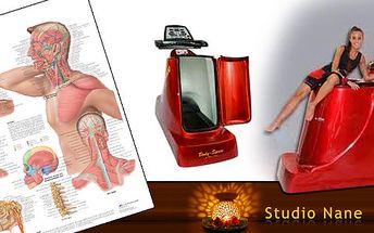 Speciální balíček služeb Studia Nane: 5x masáž šíje a 5x cvičení na strojích BodySpace, VacuShape nebo Vacu Well. Balíček vhodný i jako odměna pro zaměstnance! Přenosná pernamentka