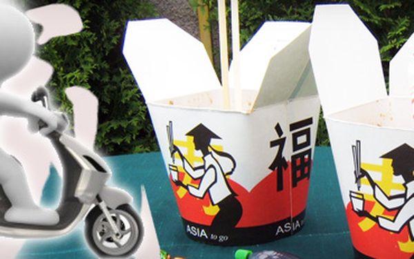 Čína do domu za neuvěřitelných 49 Kč včetně dopravy!! Vyberte si kuřecí Kung-pao, nebo maso dvou barev!! Využijte slevu 61 %, ušetřete 78 Kč!! Na osobu můžete nakoupit až 5 Slevuponů, tedy 5 jídel!!