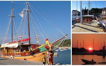 Okouzlující plavby po Jadranu na jachtě Silva! Za skvělou cenu 10392,- získejte týdenní pobyty dle výběru! Vybírejte ze 4 termínů s ubytováním v kajutách, s plnou penzí! Plujte za dobrodružstvím s Natur Travel.