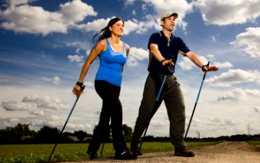 Terapie s Nordic Walking