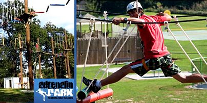 Adrenalin park Hluboká nad Vltavou