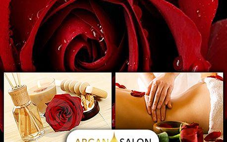 Luxusní masáž 80-90 min. Rubínové znovuzrození sdamašskou růží, jen za 800 kč z původních 1600 Kč