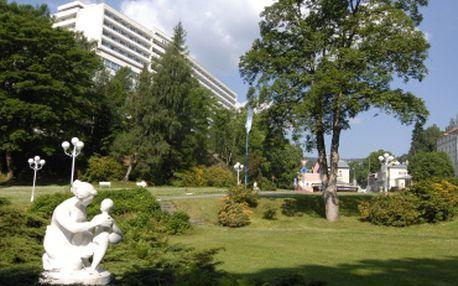 Pobyt Beauty vital v lázeňském hotelu Běhounek***