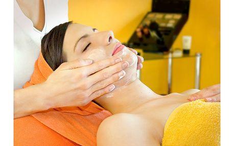 Kompletní profesionální kosmetické ošetření pleti v salonu krásy