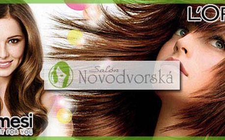 Cool letní sestříh, včetně barvení nebo melíru za 100% nejnižší cenu v Praze - neuvěřitelných 419,-Kč, vše za použití nejkvalitnější vlasové kosmetiky L´OREAL nebo FRAMESI!! Takováto nabídka se NEOPAKUJE!!