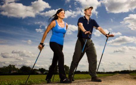 Terapie s Nordic Walking