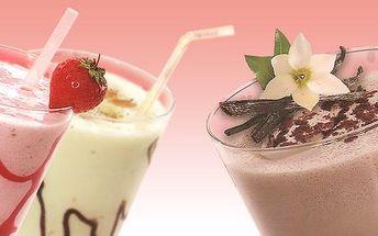 Jen 25 Kč za 0,3l lahodného zmrzlinového koktejlu! V kavárně EPUPA CAFÉ si můžete vybrat ze čtyř příchutí. Jahodový, vanilkový, čokoládový a banánový koktejl namíchaný z výborné zmrzliny, mléka a ovoce. Skvělé osvěžení pro parné dny!