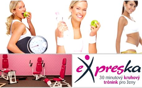 Chybí Vám potřebná motivace ke cvičení? Zapojte se do letního EXPRESPLÁNU s 55% slevou. 3 měsíce a 3 týdny cvičení, sestavení cvičebního plánu na tělo, základní výživové rady, pravidelné kontroly a měření Vašich pokroků a mnohé další!!