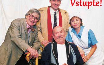 Přijďte se zasmát u výborné divadelní komedie Vstupte! za 179 Kč se slevou 40 %! Představení se koná v neděli 12.06.2011 v kině Mír v Opavě.