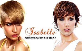 Dámský střih ve Studiu Isabelle za poloviční cenu!