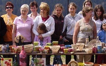 Chata Hubertka pro vás ve dnech 8.7. - 10.7.2011 pořádá Dílnu tvořivých rukou, kde si sami můžete vyrobit ozdobný květináč, prostírání či zrcadlo! Nebo se chcete zkrášlit svými vlastnoručně vyrobenými šperky? A k tomu ještě máme pro vás překvapení!