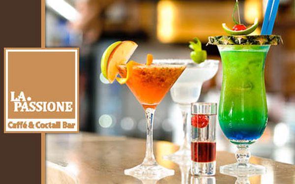 LA Passion – Vášeň! .. zažijete v každom dúšku! 2 x alkoholický miešaný nápoj podľa vlastného výberu LEN ZA 3,90€! ZĽAVA 50%!
