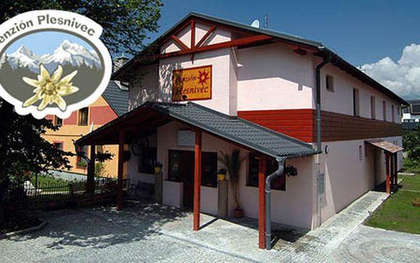 Ubytování na 2 noci pro 2 osoby v Penzionu Plesnivec pouze za 1 000 Kč. Vysoké Tatry nebo Aqua City Poprad budou pro Vás na dosah ... nyní se slevou 50 %!