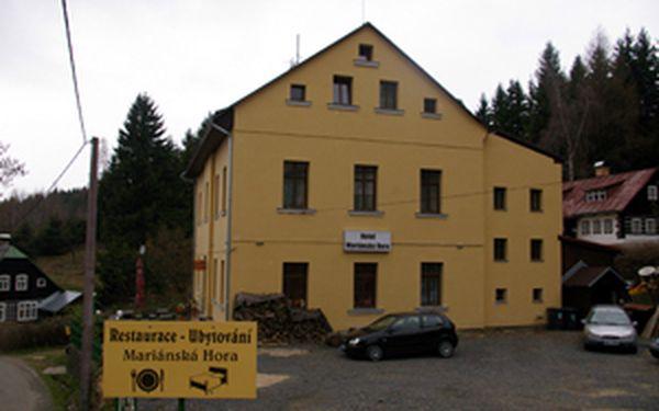 Hotel Mariánská Hora Vás zve do turistického i cykloturistického ráje. Ubytování v Jizerských horách za úžasnou cenu 144 Kč na den!