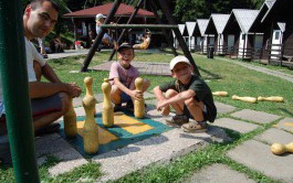 Super nabídka pro Vaše děti......Tábor ve velkém stylu plný her, soutěží, zábavy a legrace za cenu 2190,- Kč na 9 nocí.