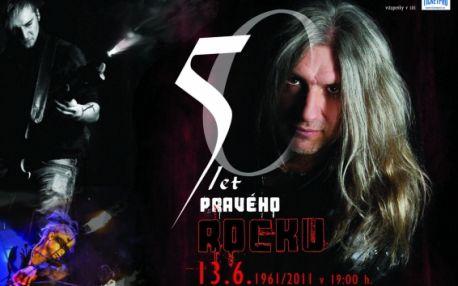 50 let PRAVÉHO ROCKU! Pouhých 19 Kč za slevový kupón -55% na koncertní show k příležitosti 50. narozenin autora rockových oper Milana Steigerwalda 13 června. V ceně sklenička Břežanské pálenky.
