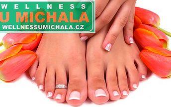 Jen 160 Kč za vytvoření gelových nehtů na nohou ve wellness centru U Michala v Plzni. Využijte skvělé příležitosti, jak mít krásné nohy do letních sandálků, navíc se skvělou slevou 54%